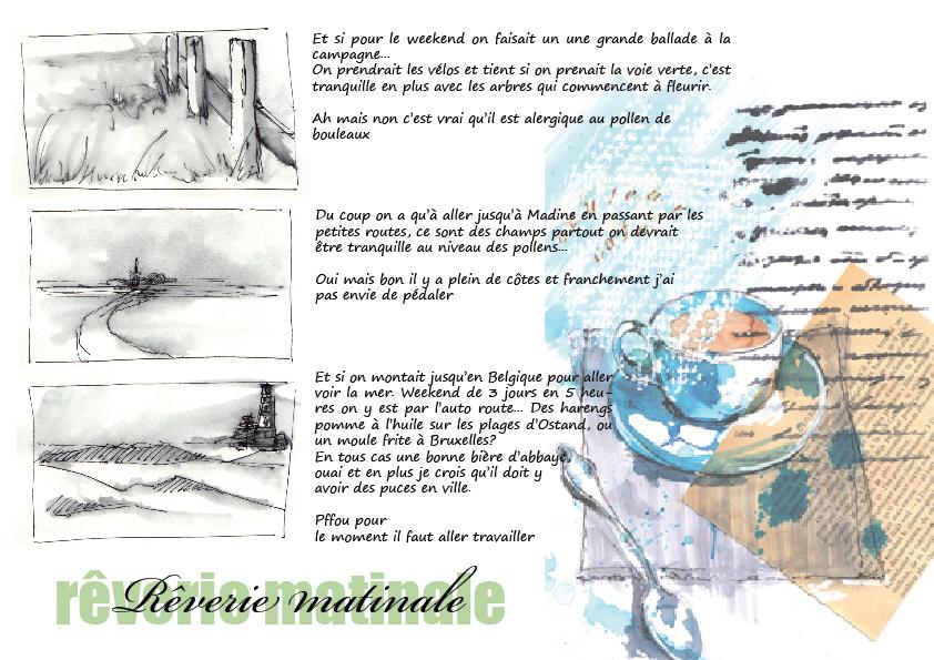 #16 -Gestes de base pour pratique du carnet de voyage- mise en pa(ysa)ge 3/4
